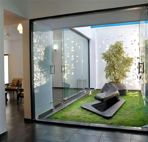 indoor patio modern small garden for indoor concept minimalist with