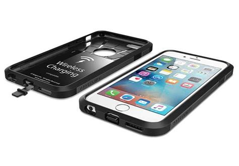 spigen tough armor volt iphone 6s with built in wireless charging receiver gadgetsin