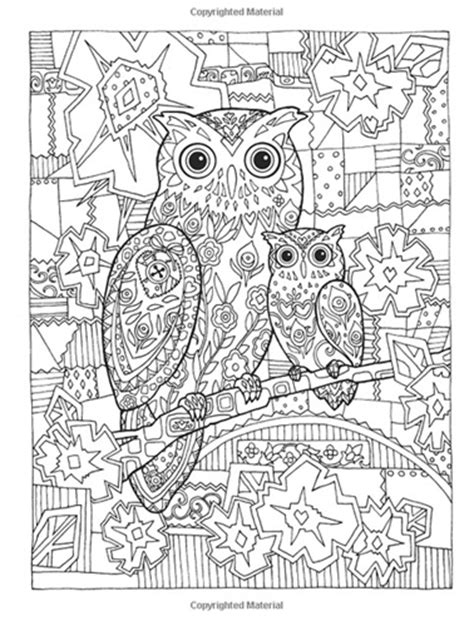 creative fantasies coloring book coloring books owls creative dover coloring book