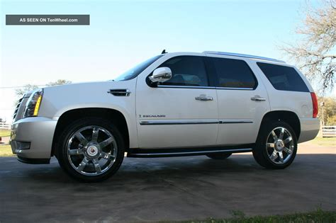 2009 cadillac escalade 22 quot chrome wheels dvd loaded