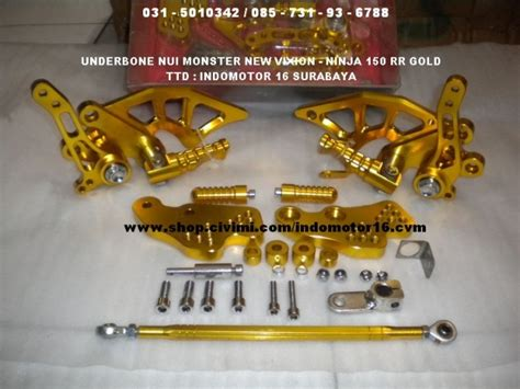 Underbone Nui Vixion Gold by Underbone Nui New Vixion 150 Rr