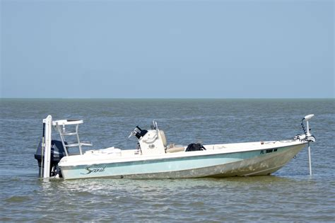 flats bay boats for sale sold expired prestine 18ft scout bay flats boat for sale