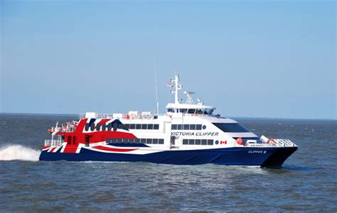 ferry boat to victoria clipper cancels plans for victoria vancouver ferry
