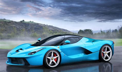 blue ferrari wallpaper ferrari cars blue latest auto car