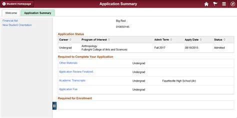 check your application status of arkansas