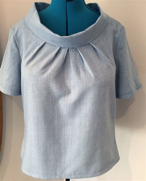 blouse with cowl neck sewing pattern 4234 made to lekala patterns blouse w cowl neck 4234 pattern review by