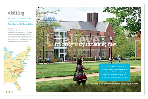 Meredith College Mba by Meredith College Viewbook By At Coroflot
