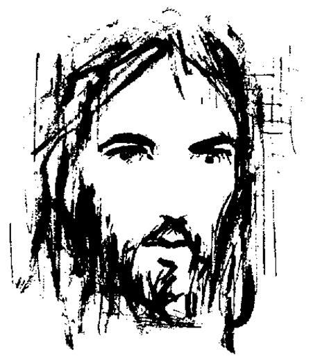 imagenes blanco y negro de jesucristo rostros de cristo en blanco y negro imagui