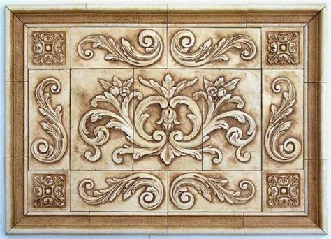 decorative tile inserts kitchen backsplash andersen ceramics backsplash murals and designs for