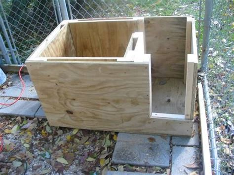 insulated dog house blueprints best 25 insulated dog houses ideas on pinterest
