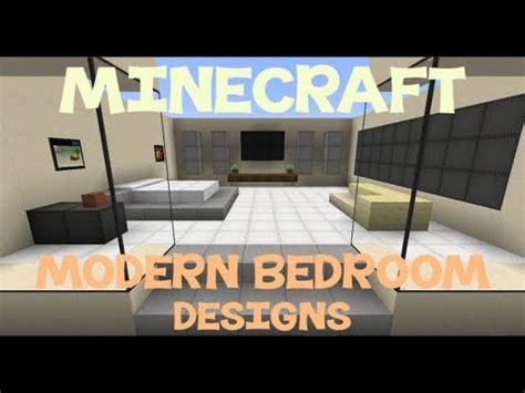 minecraft modern bedroom designs youtube