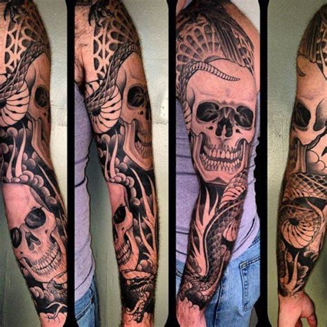 snake sleeve tattoo daring snake 2 snake sleeve on