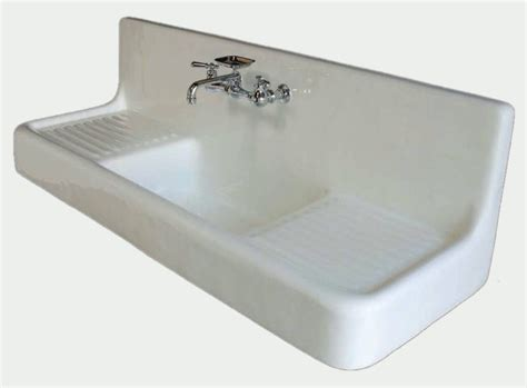 Drainboard Kitchen Sink 60 Quot Farmhouse Drainboard Sink Classic Clawfoot Tub