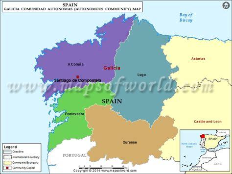 galicia regional map 571 2067184105 galicia spain map my blog