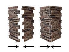 faux stuck abstellgleis installing wellington column wraps with column caps onto