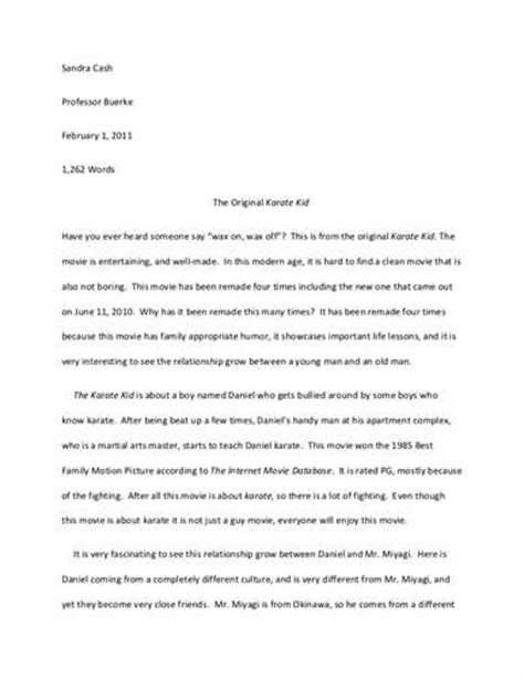 evaluation essay  related