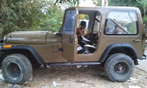 Ransel Jeep 2 nsi merekayasa kelayakan jeep 174 cj 7