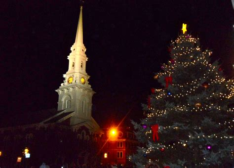 portsmouth nh holiday tree lighting nh real estate blog