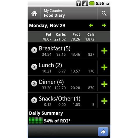 calorie counter app android the top calorie counter android apps