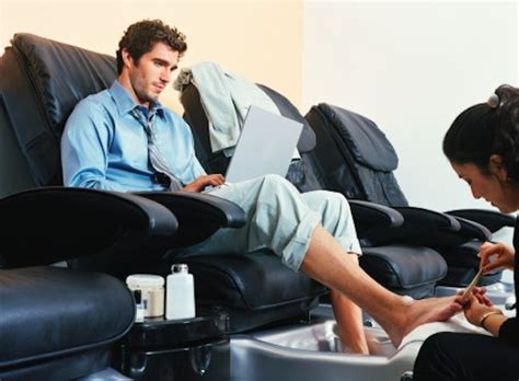 male pedicures get a pedicure and say no to street feet eligible magazine