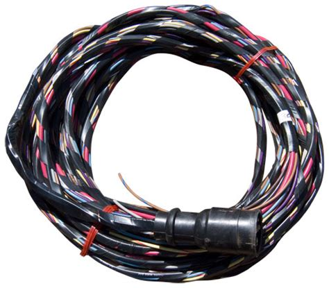 ft boat wiring harness wired  voltmeter