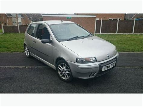 fiat punto 2001 2001 fiat punto 1 2 16v sporting 6 speed brierley hill