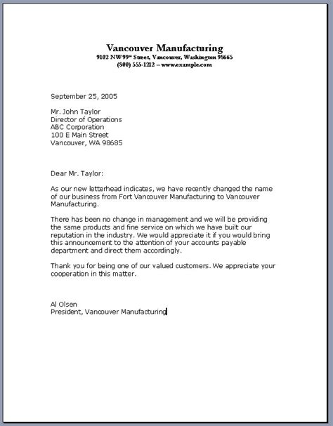 Business Letter Writing Template Tips On How To Write The Professional Business Letter Template Roiinvesting