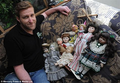 haunted doll for sale uk claims his collection of dolls is haunted by the
