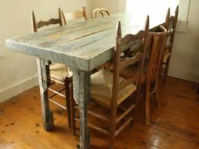 Refurbished Wood Dining Tables Recycled Pallet Dining Table 15 Ideas Refurbished Ideas