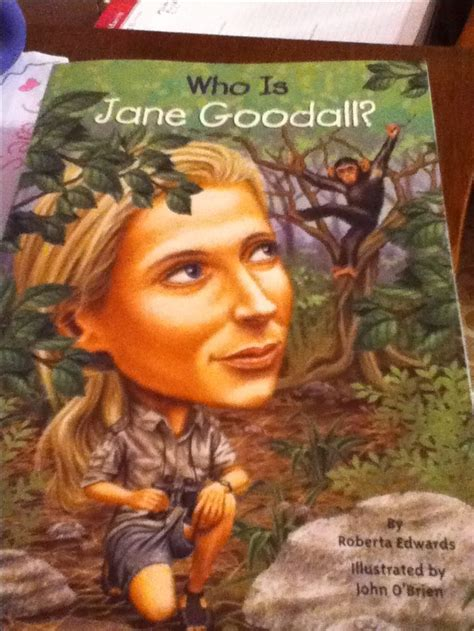 biography book about jane goodall who is jane goodall such a great book social studies