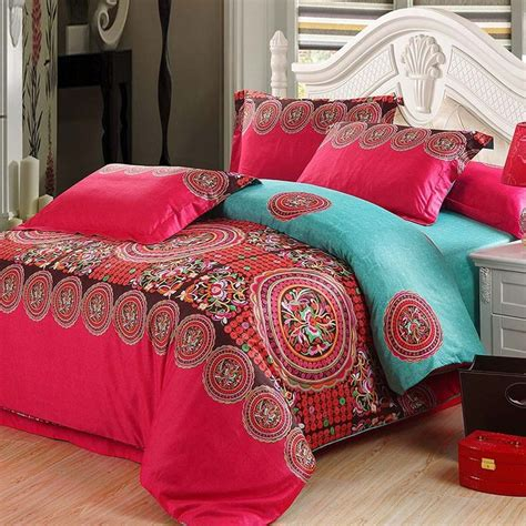 turquoise and red bedding 17 best images about bed room on pinterest turquoise