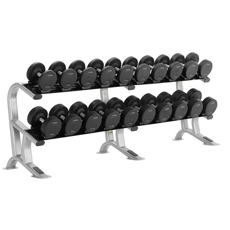 york pro style dumbbell set rack 12 5kg 35kg 10 pairs