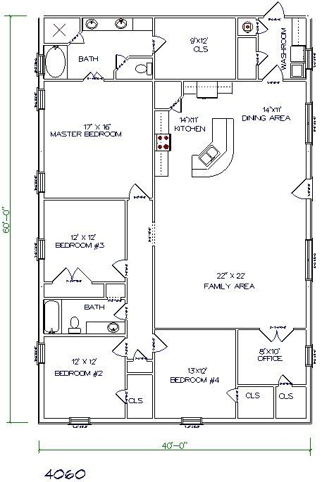 40x80 house plan 30 barndominium floor plans for different purpose barndominium floor plans barndominium and