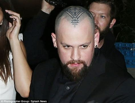 benji madden tattoos see the devilish debuted by