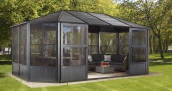 12x16 Gazebo Costco by Sun Shelters Solariums And Outdoor Furniture Sojag