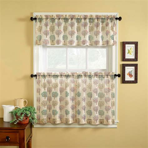 walmart bathroom window curtains chf you orchard tailored tier curtain panel set of 2