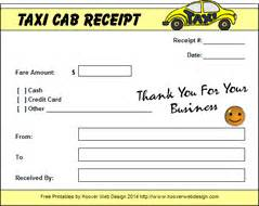 Taxi Fare Receipt Template Tour Travel Taxi Bill Format Word Excel Pdf Project