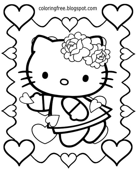 valentine cartoon coloring pages cartoon coloring pages free coloring pages printable pictures to color kids