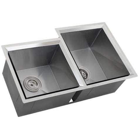 Ticor S608r Undermount 16 Gauge Stainless Steel Kitchen Sink Ticor Kitchen Sinks