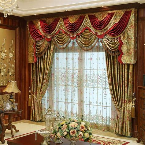 Luxurious Drapes Discount Custom Luxury Window Curtains Drapes Valances