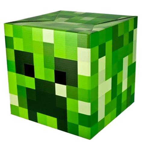 minecraft box stupid minecraft creeper box mask