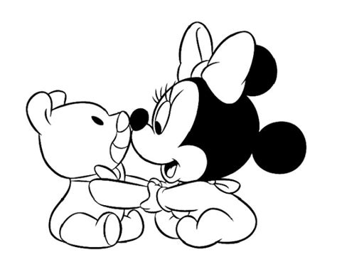 baby minnie mouse coloring pages baby minnie mouse coloring pages coloring home