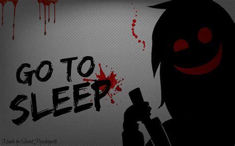 computer wallpapers for sleep jeff the killer go to sleep wallpaper by