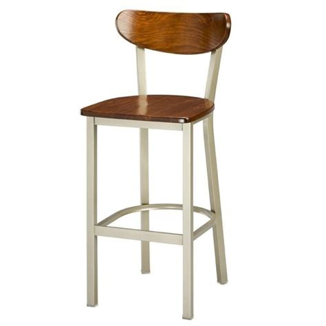 High Back Bar Stool Regal Hastings 30 High Classic Wooden Seat And Back Bar Stool
