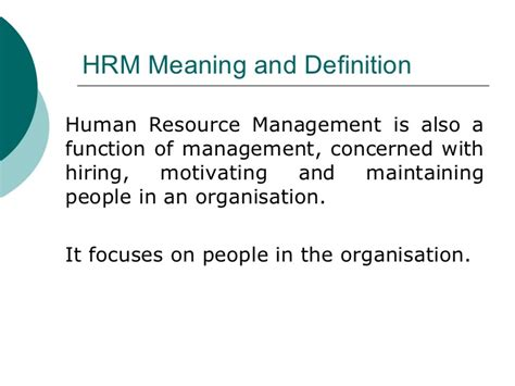 Scope Of Mba In Human Resource Management In Pakistan by The Concept Of Hr Managment Durdgereport492 Web Fc2