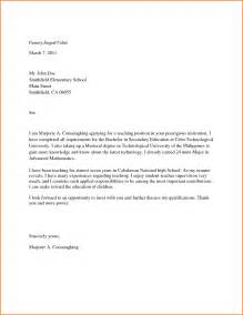 Cover Letter Sample Edu How To Write A Cover Letter For University Position Cover