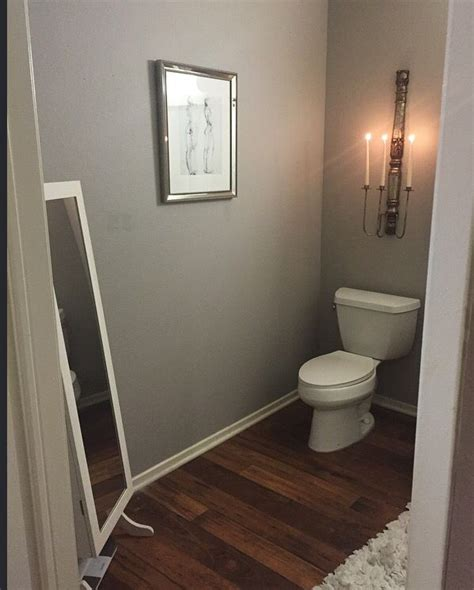Grey Bathroom Paint Colors by My Bathroom Redo Paint Is Graceful Grey By Behr