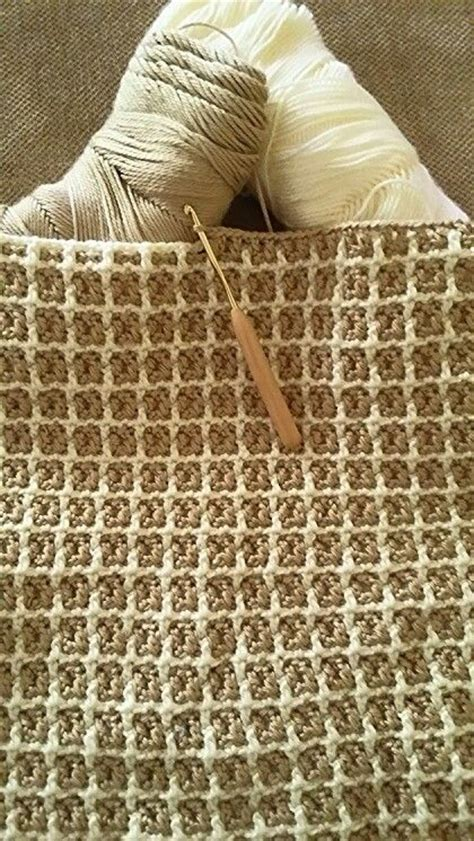 Najma Bordir interlocking crochet stitch c