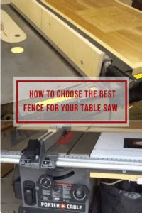 best table saw fence 2017 choosing the best table saw fence all you need to