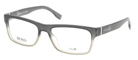 brillengestell matt lunettes de vue 0729 kac 54 17 homme noir gris
